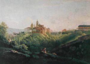 Pohled na Pražský hrad od východu